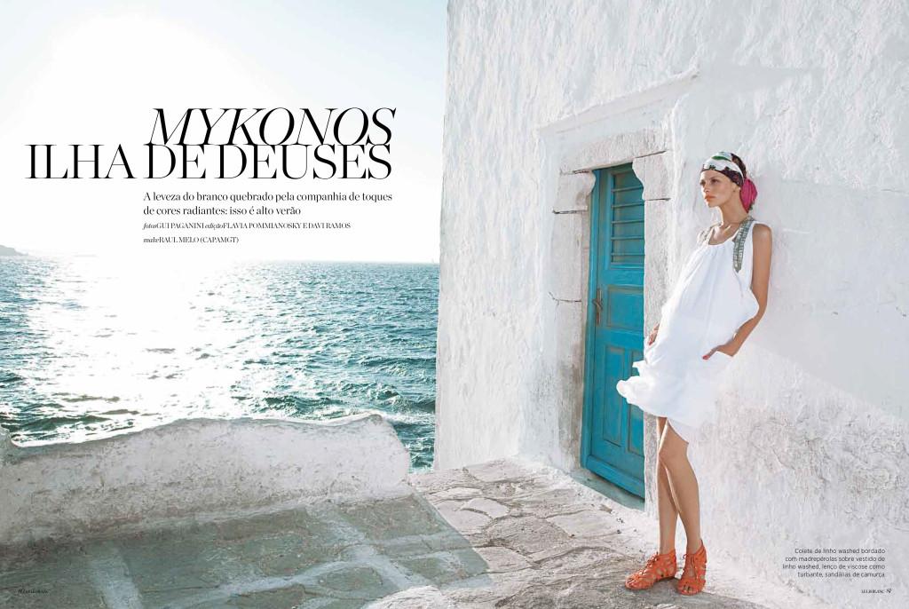 Fashion - High Summer in Mykonos-1