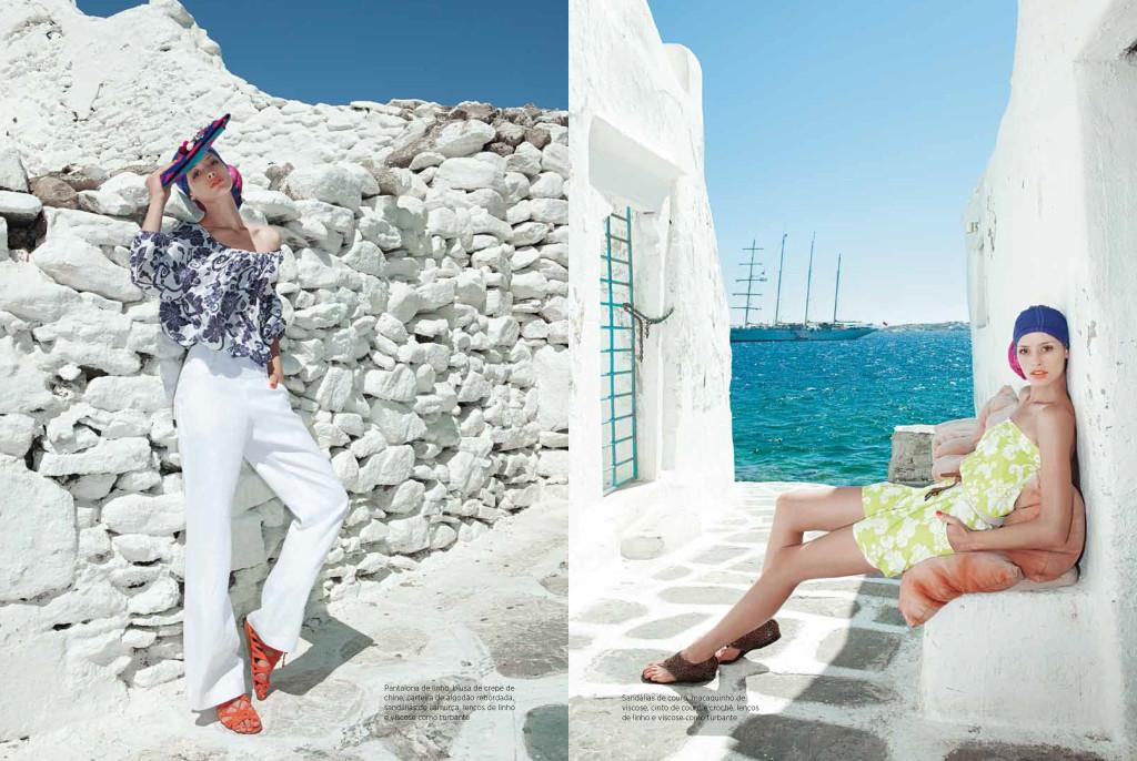 Fashion - High Summer in Mykonos-5