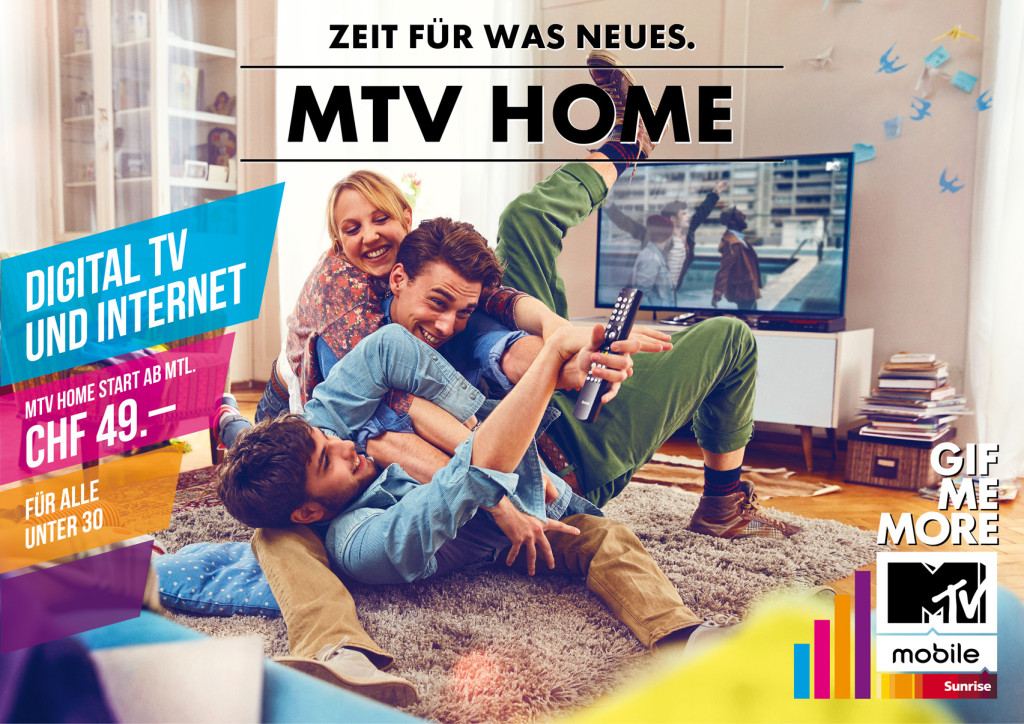 MTV-Home-Fernbedienung